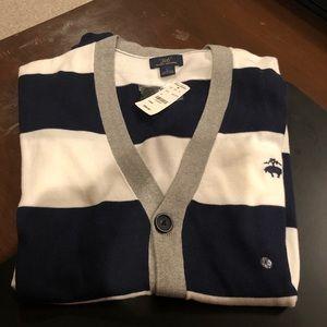 Brooks Brothers cardigan sweater large